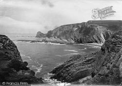Hartland, Dame Hole And Begberry Bay 1920