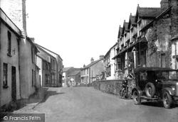 Hartland, Fore Street 1929