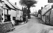 Hartland, Fore Street c1950