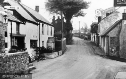 Hartland, Fore Street c.1950
