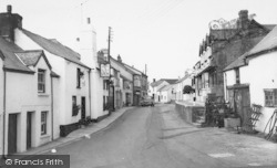 Hartland, Fore Street c.1960