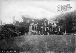 Hartland, Hartland Abbey 1894