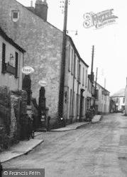 Hartland, Petrol Pumps, Fore Street c.1950