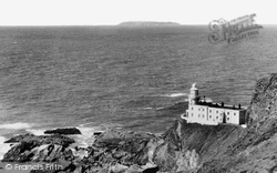 Hartland, Point Lighthouse And Lundy c.1955