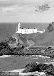 Hartland, Point Lighthouse c.1955