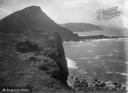 Hartland, Quay, Catherine Tor And Mausley Cliff 1920