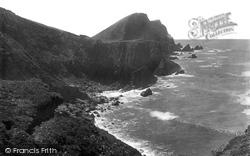 Hartland, Quay, Shiplass Hill And Catherine Tor 1920