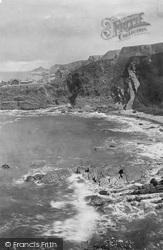 Hartland, Quay, Well Beach 1920