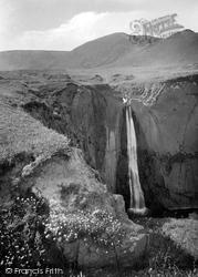 Hartland, Spekes Waterfall 1920