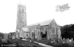 Hartland, St Nectan's Church 1894