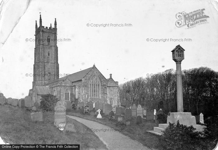 Hartland, the Church c1885