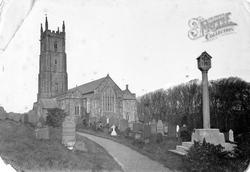 Hartland, St Nectan's Church c.1885