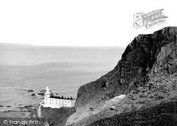 Hartland, The Lighthouse c.1950