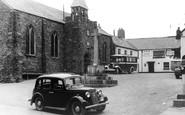 Hartland, the Square c1950
