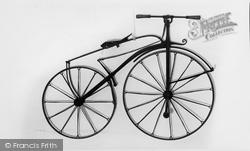 Hartlebury, Boneshaker Bicycle c.1869, County Museum c.1960