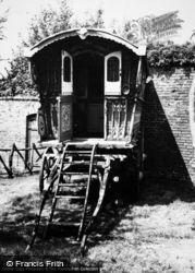 Hartlebury, Gypsy Caravan, Worcester County Museum c.1960