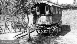Hartlebury, Gypsy Caravans, Worcester County Museum c.1960