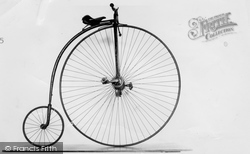 Hartlebury, Penny-Farthing, Worcestershire County Museum c.1960