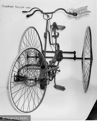Hartlebury, Quadrant Tricycle 1886, County Museum c.1960