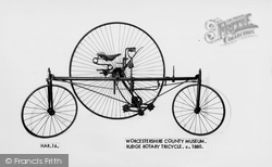 Hartlebury, Rudge Rotary Tricycle c.1880, County Museum c.1960
