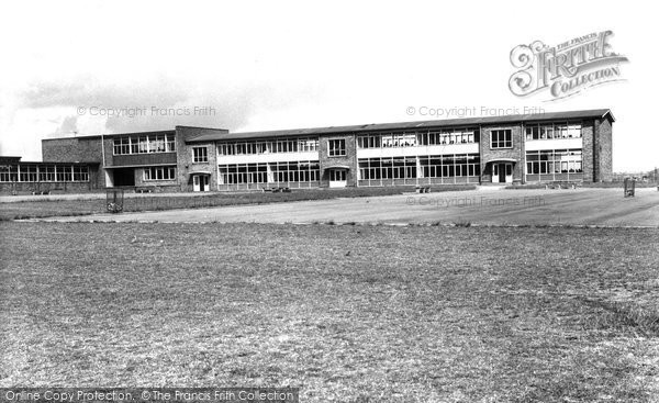 Hartlepool, Brierton Secondary School for Girls c1955