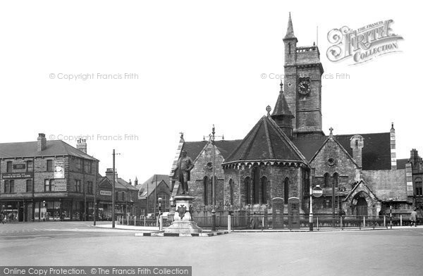 Photo of Hartlepool, Church Square c1955, ref. h32001