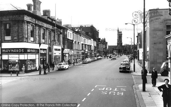 Photo of Hartlepool, Church Street c1960, ref. h32044