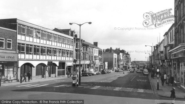 Photo of Hartlepool, Church Street c1960, ref. h32078