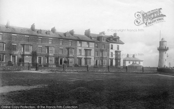 Photo of Hartlepool, Cliff Terrace 1896, ref. 37507