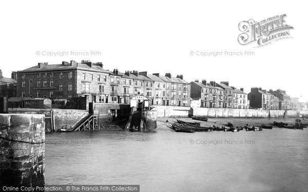 Photo of Hartlepool, East, from Ferry Landing 1886, ref. 18840