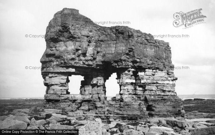 Photo of Hartlepool, Elephant Rock 1886