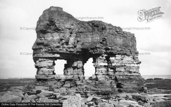 Hartlepool, Elephant Rock 1886
