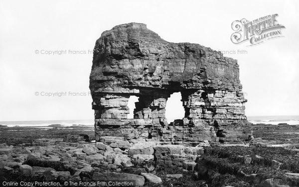 Photo of Hartlepool, Elephant Rock 1886, ref. 18846