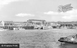 Hartlepool, Fish Docks c.1955