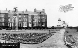 Hartlepool, Gardens And Lighthouse c.1955
