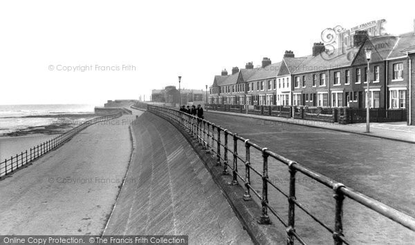 Photo of Hartlepool, Marine Drive c1955, ref. h32021