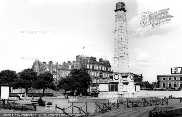 Photo of Hartlepool, Memorial Gardens c1965, ref. h32066