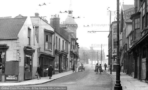 Photo of Hartlepool, Middlegate c1955, ref. h32015
