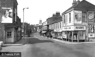 Hartlepool, Musgrave Street c1960