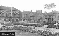 Hartlepool, New Croft Gardens c.1955