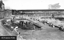 Hartlepool, Paddling Pool c.1960