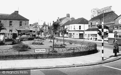 Hartlepool, Park Road And Gardens c.1965