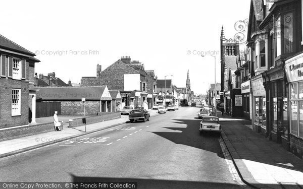 Photo of Hartlepool, Park Road c1960, ref. h32071