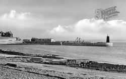 Hartlepool, Pilots Pier c.1955