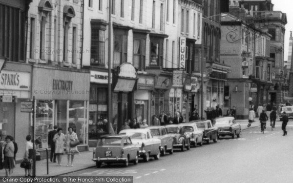 Hartlepool Shops In Church Street C 1960 Francis Frith