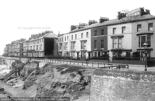 Hartlepool, South Crescent 1896