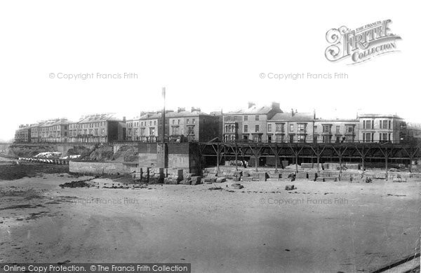 Photo of Hartlepool, South Crescent and Albion Terrace 1896, ref. 37510