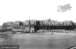 Hartlepool, South Crescent And Albion Terrace 1896