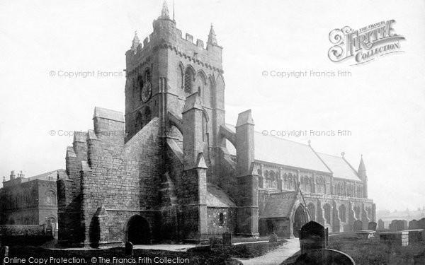 Photo of Hartlepool, St Hilda's Church 1891, ref. 29253