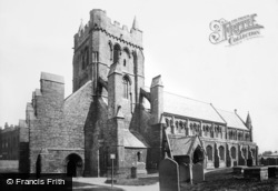 Hartlepool, St Hilda's Church 1896